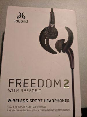 Jaybird freedom 2 Speedfit Wireless Headphones Sport Active Performance Waterproof for Sale in Houston, TX