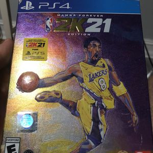 NBA 2k21 Kobe Edition with code for PS5 for Sale in Weston, FL