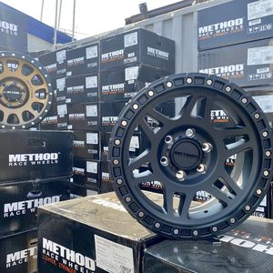 "METHOD OFF-ROAD WHEELS PACKAGES • 4 New 17"" Method NV Matte Black Rims • 4 Falken Wildpeak AT3 265/70R17 Tires Only $1499 for Sale in La Habra, CA"