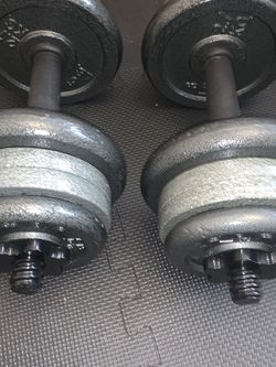 NEW DUMBELL SET ADJUSTABLE 60 LBS for Sale in Chicago,  IL