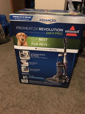 BISSEL PROHEAT 2X REVOLUTION PET PRO. Brand new in the box for Sale in Las Vegas, NV