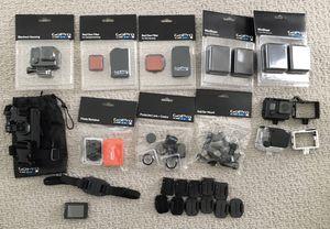 Random assortment of genuine GoPro mounts & accessories for Sale in Newark, CA