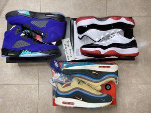 Jordan 5, Jordan Bred 11, Sean Wotherspoon for Sale in Houston, TX