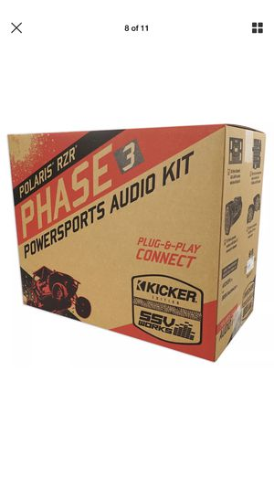 RZR Kicker stereo for Sale in Peoria, AZ