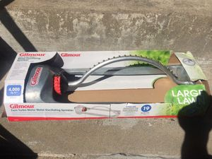 4000 sqf Gilmoure oscillating sprinkler for Sale in Waltham, MA