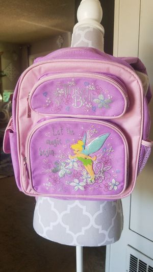 Disney Tinkerbell backpack for Sale in Los Angeles, CA
