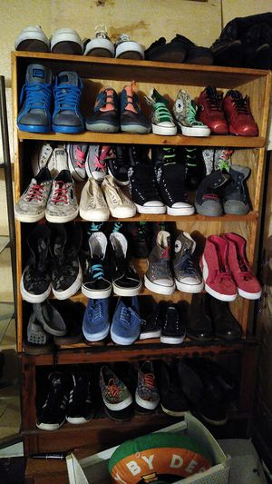 Nike Jordan's converse pumas vans reebok and boots for Sale in San Antonio, TX