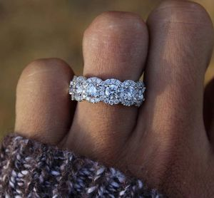$10 new size 9 silver plated CZ ring for Sale in Manchester, MO