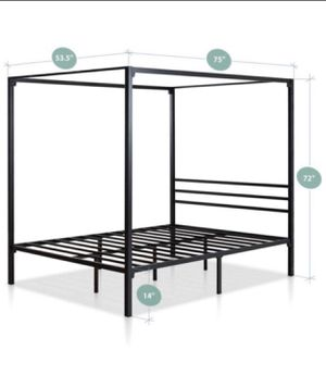 Canopy bed frame for Sale in Smyrna, TN