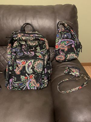 Vera Bradley backpack, lunch box, and lanyard/ wallet! for Sale in O'Fallon, MO