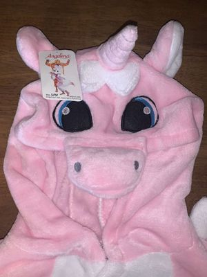 Pink Fuzzy Unicorn 🦄 Suit for Sale in Bow, WA