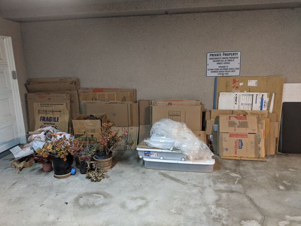 MOVING BOXES - OVER 80 TOTAL!