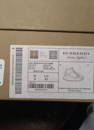 BURBERRY SHOES for Sale in Miami Gardens, FL