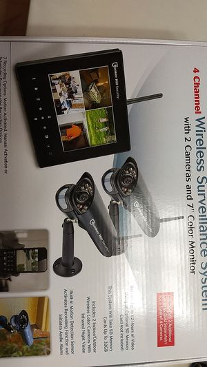 Bunker Hill Wireless Surveillance System for Sale in Beaumont, TX
