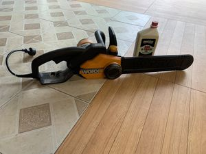 WORX Chain Saw for Sale in Chester, VA