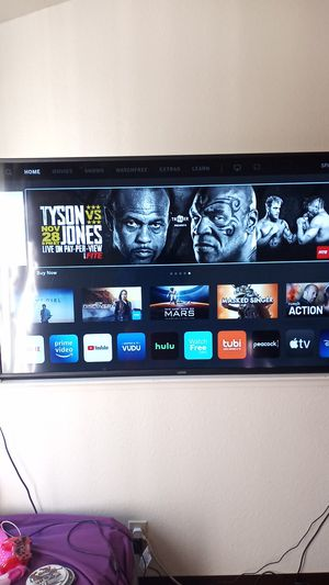 "Vizio ""58 Smart T.V with remote for Sale in Oakland, CA"