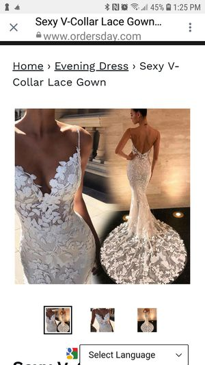 Wedding dress for Sale in Pickerington, OH