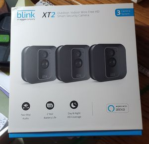 Blink X2 security camera 3 - pack . for Sale in Woodstock, IL