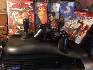 PS2 Console & Arcade Stick Lot | Tekken | Final Fantasy | God of War for Sale in Middletown, NJ