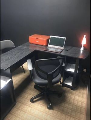 Black Office Desk for Sale in Indianapolis, IN