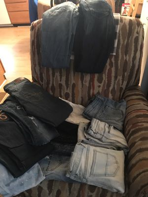 15 pair of jeans sizes for Sale in Grand Rapids, MI