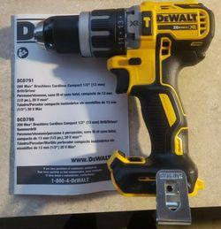 Brand New DeWalt XR Brushless Hammer Drill Bare Tool for Sale in Hampton,  VA