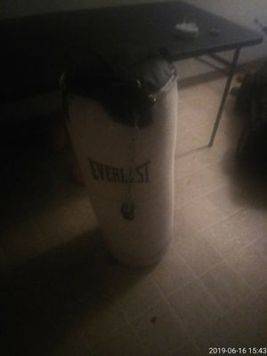Punching bag come mit glove for Sale in St. Louis, MO