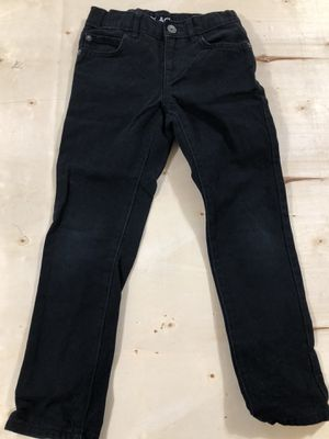 Denim black jeans size 6 $5 kids for Sale in Brooklyn, NY