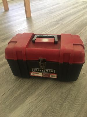 Craftsman toolbox for Sale in Tempe, AZ