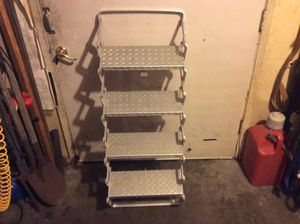 Aluminum RV Camper pick up truck staircase steps for Sale in Fullerton, CA