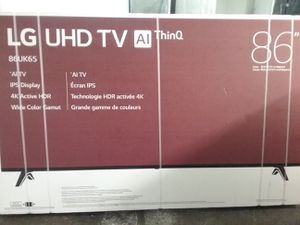 """LG 86UK65 86"""" 4k HDR smart TV with AI ThinQ for Sale in Wenatchee, WA"""