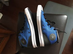 New Blue converse mid high top size 10 men 12 woman for Sale in West Palm Beach, FL