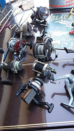 Fishing reels Deep sea /spinning/vintage for Sale in Fresno, CA