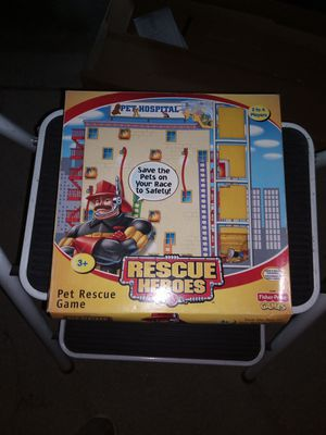 Kids Board Game/ Rescue Heros for Sale in La Habra Heights, CA