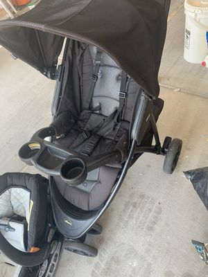 Graco Stroller and car seat with 2 bases for Sale in Chandler, AZ