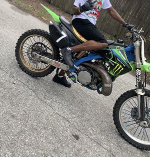Dirt bike brand new barely road 250 kx sport super fast ready to rock out for Sale in Tampa, FL