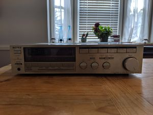 Vintage Stereo Receiver and Tape Deck for Sale in Baltimore, MD