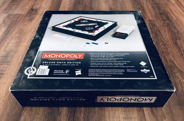 Monopoly Onyx Edition