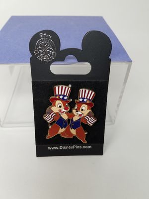 Disney Enamel Pin: Patriotic Chip and Dale (Please Read Description) for Sale in Phoenix, AZ