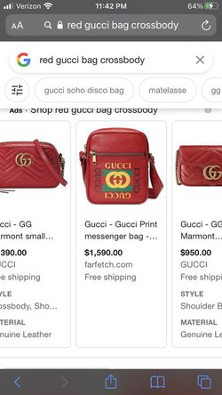 Gucci messenger bag RED for Sale in Tucson,  AZ