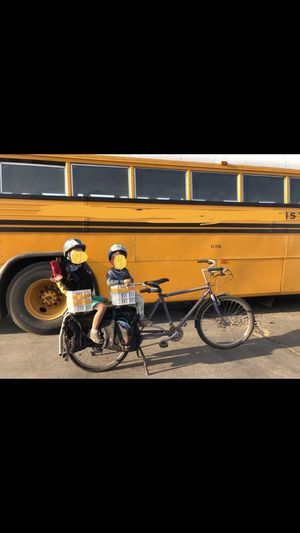 Yuba Bike Child Carrier w/ extra attachments for Sale in Turlock, CA