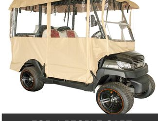 Golf Cart Enclosure 4 Person Cart Cover for Sale in Los Angeles,  CA