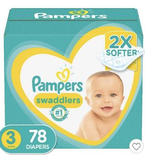 Pampers brand diapers size 3 (two boxes) and wipes brand new in original packaging for Sale in Raleigh, NC