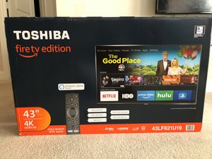 Toshiba 43LF621U19 43-inch 4K Ultra HD Smart LED TV HDR - Fire TV Edition for Sale in Rockville, MD