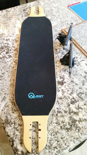 🚨 $45 TODAY ONLY! RIGHT NOW!🚨 LONG BOARD SKATEBOARD ALMOST BRAND NEW skate stick skater skating sk8 for Sale in Rancho Cucamonga, CA