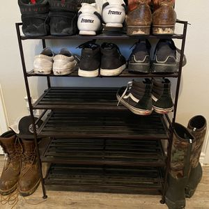 Multi-Piece Shoe Rack for Sale in The Colony, TX