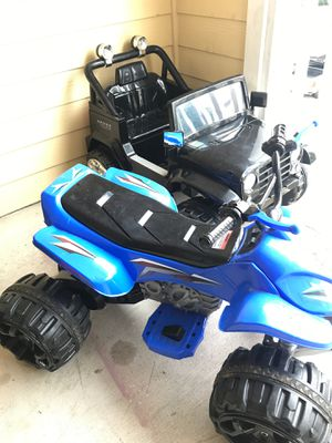 Chargeable motorized monster trucks for Sale in Houston, TX