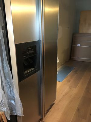 Kitchen Aid Refrigerator, Gas Stove and Dishwasher. All in good condition. Selling due to remodeling. for Sale in Denver, CO