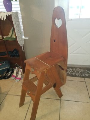 Vintage Wooden Ironing Board Decor for Sale in Pasadena, TX