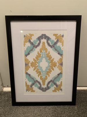 Gold and teal Art for Sale in Shawnee, KS